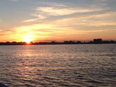 Plymouth MA sunset